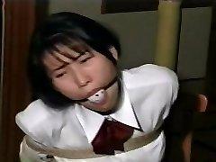 school lady restrain bondage D51