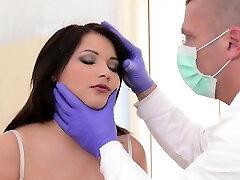 Horny doctor punishes lovely honey Lana