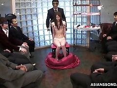 Rina Serizawa is at disposition to kinky men all night