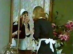 clasic retro vintage - mici tove clip - servitoare orgie