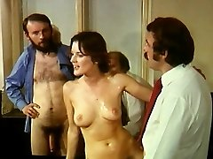 Orgy - Judge investigates facts of the case in the courtroom