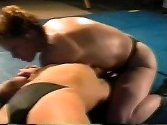 Hard-core lesbian Fucky-fucky Fight on Academy Wrestling