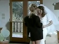 Lesbian hump after marriage.