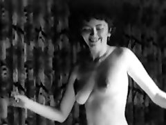 RING OF FIRE - vintage cowgirl naked dance taunt