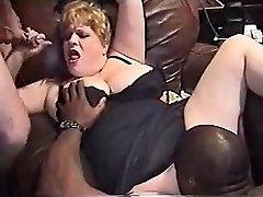 InterracialPlace.org - Vintage VHS BBW wife