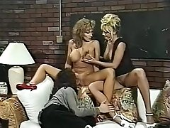 Greatest pornstars Menage Trois and Anna Amore in incredible threesomes, nurse hard-core movie