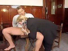 Old doll hires another boy toy