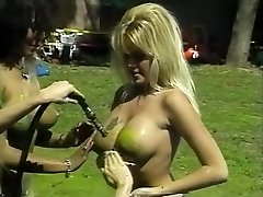 Awesome pornographic stars Isis Nile, Paula Price and Danyel Cheeks in hottest fetish, antique adult scene