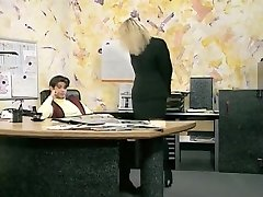Astounding amateur Office, Stockings sex clip