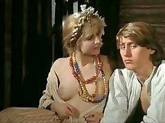 Fabulous homemade Petite Tits, Vintage orgy scene