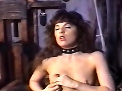 Lesbian femdom playing with her limited submissive