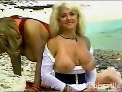 Letha Weapons and Bethany Bustin - Beach Photoshoot (1994)