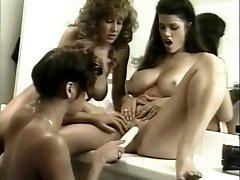 Amazing porn industry stars Bianca Trump, Lana Sands and Jordan Lee in crazy showers, big tits gonzo scene