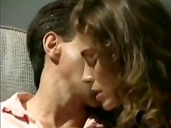 Chasey Lain fucks Peter North old-school porno