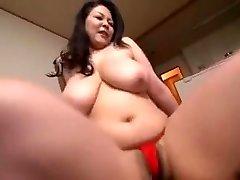 Mother Show Off Loincloth Figure...Hagi Azusa