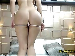Big Ass Hot Dark Haired Will Seduce You With Posing And Dancing