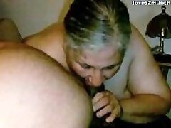 Granny Lynne Gets Face Torn Up and a Mouthful of Jizz