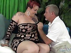 Mature bbw Selena White takes cock