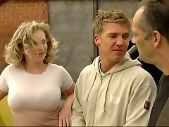 Blonde fucked by German construction employees