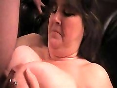 busty wife facial