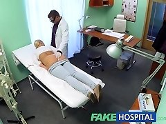 FakeHospital Blond with big tits wants to be a nurse