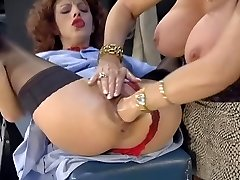 Cute mature - Huge toy - Fisting