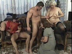 Wild Mature hook-up in living bedroom with big dick studs