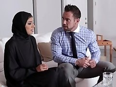 TeenPies - Hot Muslim Teenie Banged And Creampied