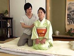 Sixtieth narodeniny Tsuboi Fumi 61 rokov