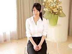 Exotické Japonský coura Asuka Takao v Úžasné, veľké prsia, sólo dievča JAVA-film
