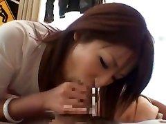 Hottest Japanese girl Saya Mizuki in Horny Oral, Casting JAV clip
