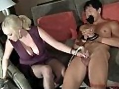 Katie Kox Hefty milk cans  - Cock Masturbator Machine