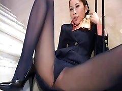 Japanese tights upskirt