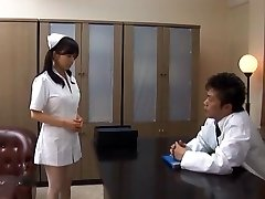 Doc Has Hina Hanamis Cock-squeezing Nurse Pussy To Fuck