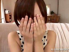 Ayumi Kimino super hot Asian cougar gets pussy banged
