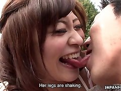 Asians are getting their humid pussies finger-banged real deep