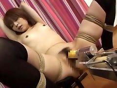 Incredible Japanese female Miyu Sugiura in Mind-blowing Small Boobs, Fucking Machines JAV clip