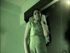 Indian college girl homemade sex gauze