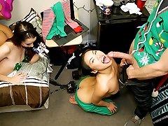 Cindy Starfall & Lexy Bandera & Katya Rodriguez in Holiday Cheer - DareDorm