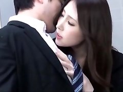 Orgy with office chick