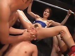 Crazy homemade Domination & Submission, Fetish porn scene