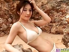 Kumada Yoko peituda é romântico na natureza