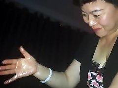 Čínskej, indickej desi kohút masáž s cum - časť 2