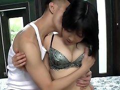 Uncensored pallid Japanese AV starlet Airi Minami in bungalow