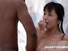 Asian nail by 2 black dicks - ASIANPORNDADD