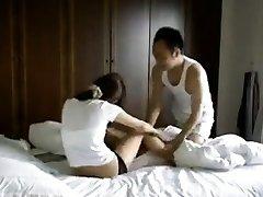 Ilegal Taiwan casal fazendo privado sextapes