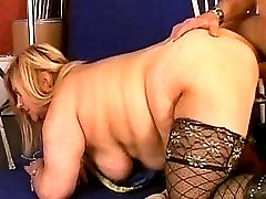 Horny blonde hungry for some hard cock