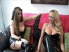 mistress and friend use victim