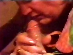 Retro Cumshot Crams Her Gullet With Cum Till It Flows Back Out