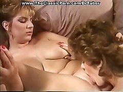 Classic pornography with crazy sex at party